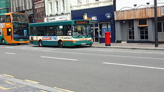 Cardiff Bus CE02UVA 216 (welshpete2007) Tags: cardiff bus dart ce02uva 216