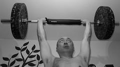 Drive Push Press (alan.michael.wong) Tags: drive push press leica photography performance training explosive black white