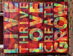 "William Butler Painting ""Glassboro: Vibrant Future"" (Borough of Glassboro, New Jersey) Tags: glassboro nj newjersey classictowns downtown rowan university lavon phillips glassborotownsquare 08028 rowanuniversity downtownglassboro williambutler thomaslift"
