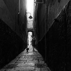 Genova (ale neri) Tags: street bw people aleneri caruggi genova italy italia streetphotography blackandwhite alessandroneri