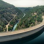 Cabril dam Portugal