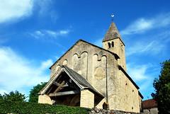 Vaux-en-Pré (71) : église Saint-Roch (odile.cognard.guinot) Tags: saôneetloire bourgogne bourgognefranchecomté 71 vauxenpré églisesaintroch 11e12esiècles artroman quelestcelieu