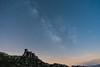 Château de Quéribus et sa voie lactée (D@rkne§§260) Tags: milkyway voielactée queribus chateau castle night sky longexposure poselongue ciel stars étoiles nikond750 nikon nikkor28mmf28afd