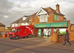 Stanbridge Road Post Office (Lost-Albion) Tags: postoffice royalmail mercedes vx09bwm leightonbuzzard bedfordshire