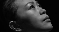 Shining (frank.gronau) Tags: white black porträt weis schwarz woman girl asian light licht shining frau alpha sony gronau frank