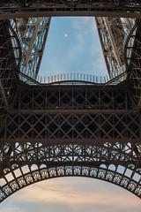 Moonrise (Alexandre Marah) Tags: architecture city cityscape d800 lune moon nikon paris toureiffel urban ville