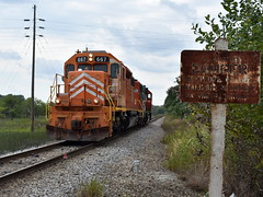 The J at home (Robby Gragg) Tags: eje sd382 667 pine junction gary