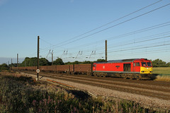 60091 6N11 chaloners whin 11.08.2018 (Dan-Piercy) Tags: dbcargo class60 60091 chalonerswhin askhambar parkride 6n11 scunthorpe trent tc teesny flyash empties ecml