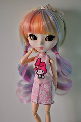Evelyn (kimberly °(ᵔᴥᵔ)°) Tags: pullip pullips doll dolls marianne obitsu melody hello kitty barbie sanrio