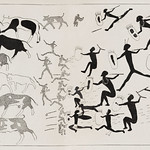 Ancient painting in a cave near Hermon published in 1897 by Frédéric Christol (1850-1933). thumbnail