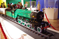 IMGP3073 (Steve Guess) Tags: winchester museum lego display 4472 flying scotsman pullman coaches railway train loco locomotive engine steam novium model chichester west sussex england gb uk