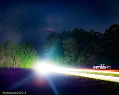 """88mph"" #lights #lighttrails #supernatural #longexposure #landscape #backtothefuture #nikon (irockitstudios) Tags: nikon landscape backtothefuture longexposure lighttrails supernatural lights"