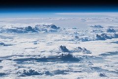 Unlimited airspace?   Noch Luft nach oben? (Astro_Alex) Tags: africa earthobs kenya southernafrica tanzania clouds horizon
