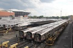 IMG_8871 (GojiMet86) Tags: mta irt nyc new york city subway train 1983 1985 2002 2013 r62a r77 r188 899 1910 7326 7456 7887 corona yard