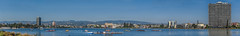 usrowing masters national championships (pbo31) Tags: bayarea california nikon d810 color august summer 2018 boury pbo31 oakland lakemerritt eastbay alamedacounty usrowing masters rowing race blue national championships sport panoramic large stitched panorama over crew boat team club 8 vespoli
