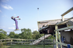 CMSC Annuam picnic - Norge Ski Jumping Hill (Rick Drew - 20 million views!) Tags: norge ski club jumping olympic sport sports hill ramp summer extreme tower cmsc picnic party fun eveny clubs trees forest woods green grass