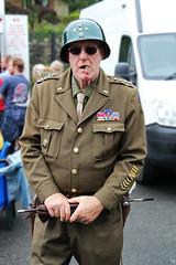 General Patton Lives! (big_jeff_leo) Tags: yorkshire uppermill reenactment ww2 secondworldwar patton general american usa