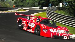 BASF Sauber C9 (m i n i t e k) Tags: basf sauber mercedes c9 nordschleife nurburgring endurance racing racetrack circuit 24h gran turismo sport car racecar