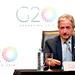 Andres Ibarra, Ministro de Modernización de la Argentina - Conferencia de Prensa - Reunión ministerial de Economía Digital