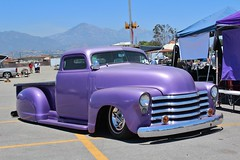 53rd Annual LA Roadsters Show (USautos98) Tags: 1950 chevrolet chevy pickuptruck traditionalhotrod kustom