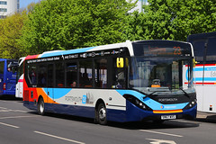 SN67 WVS, St Georges Road, Portsmouth, May 10th 2018 (Southsea_Matt) Tags: sn67wvs 26148 route23 alexanderdennis adl enviro200 e200 mmc stgeorgesroad portsmouth hampshire england unitedkingdom may 2018 spring canon 80d stagecoach southdown bus omnibus vehicle passengertravel publictransport