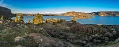 Steamboat Rock State Park (karlsjohnson) Tags: karl lake mountains statepark steamboatrock washington electriccity unitedstates