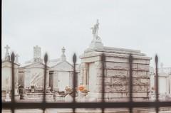 000022950006 (wongstea) Tags: neworleans lousiana nola mausoleum fence 35mm film 35mmfilm analog cemetery canon canonae1