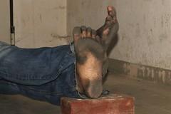 dirty city feet 581 (dirtyfeet6811) Tags: feet soles barefoot dirtyfeet dirtysoles blacksoles cityfeet