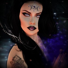 Witch (JessicaNhah) Tags: witch darkness aura magic secondlife picmonkey goth gothic