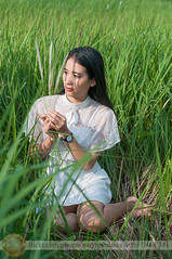 Hay and green (Hosting and Web Development) Tags: sit grass field hay sunlight summer green white girl one outdoor outside officialnikkor portrait nikon nikkor afternoon arm hand smile leg female femininity body hair happy face eyes eye dress sunshine enjoy life beautiful morning