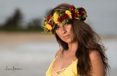 Kiana @ Sandy Beach July 2018 05 Close Up (JUNEAU BISCUITS) Tags: haku hawaii hawaiiphotographer portrait portraiture hispanic beauty glamour model femalemodel