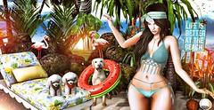 POST ★☆ 1K304 ★☆ (♕ Xaveco Mania - Jhess Yoshida ♕) Tags: navycopper avaway blackbantam blueberry focusposes vanityevent dubaievent secondlifephotography secondlifeblog secondlife sexy deco girl cute beach blushevent anaposes