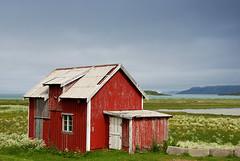Abandoned? (DoctorMP) Tags: lofoten nordland norway moskenesoya summer hiking outdoors village wooden building fredvang