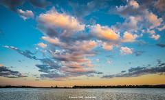 Clouds (Ignacio Ferre) Tags: embalsedesantillana reservoir santillanareservoir embalse agua water madrid manzanareselreal españa spain paisaje landscape clouds nubes cielo sky airelibre naturaleza nature light nikon sunset puestadesol