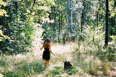 (Anna Lunina) Tags: minolta rokkor analog 35mm film nature portrait fujifilm forest