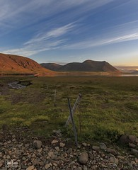 HFF Snæfellsnes (einisson) Tags: snæfellsnes mountains sky iceland fence nature outdoor landscape einisson canon70d