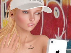 You decide (Rose Sternberg) Tags: second life hypnose cap outfit tattoo you decide smile sale