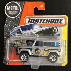 Mattel Matchbox - Matchbox Series - Number 48 / 125 -  Land Rover 90  - Miniature Die Cast Metal Scale Model Vehicle (firehouse.ie) Tags: taylorconstruction toys toy models model metal miniatures miniature matchbox mattel 4wd 4x4 britishleyland bl rover landrover90 landie landrover
