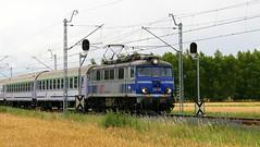 EU07-045, Warmątowice, 24.06.2018 (Marcin Kapica ...) Tags: pkp eu07 kolej lokomotive locomotive bahn ic