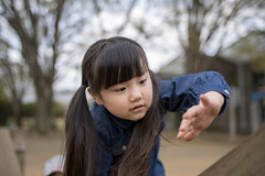 Little girl climbing slope in playground (Apricot Cafe) Tags: img86498 asia asianandindianethnicities healthylifestyle japan japaneseethnicity tamronsp35mmf18divcusdmodelf012 adolescence candid carefree casualclothing charming cheerful chibaprefecture child childhood climbing colorimage day enjoyment girls happiness innocence leisureactivity lifestyles nature oneperson outdoors people photography playequipment playground preschoolage publicpark realpeople slope smiling springtime sustainablelifestyle toddler waistup weekendactivities ichiharashi chibaken jp