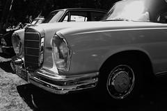 Mercedes Benz 220 coupe (JoRoSm) Tags: hebden bridge classic vintage car show 2018 cars autos canon eos 500d tamron 1750 f28 6065ap mercedes benz 220 coupe mono monochrome bw bnw black white