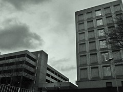 Squares & Lines (teaselbrush) Tags: birmingham west midlands uk british england city urban tower block blocks towerblock flats offices modern architecture skyscraper geometric geometry brutalist brutalism modernist concrete