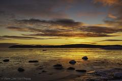 Still life... (- photozol -) Tags: västernorrland sweden europe scandinavia baltic sea sony nex7 sel24f18z zeiss carlzeiss rock sunrise landscape winter colours mirrorless e mount sundsvall bredsand