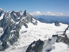 Mont Blanc Area Glacier (Jonathon Bennett Photos) Tags: montblanc chamonix glacier skirun blue white granite travel holiday