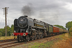 70013 Oliver Cromwell (gareth46233) Tags: 70013 oliver cromwell 1t57 gcr great central quorn