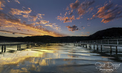 0S1A9767 (Steve Daggar) Tags: sunset woywoy reflection reflections wharf jetty nswcentralcoast