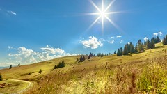 Landscape (pandp.snowflake) Tags: bluesky brightsun colour france gras green landscape lesgets mood mountains nature panorama summer summer2017 sun auvergnerhônealpes fr