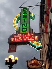 La Crosse, WI Casino Lounge neon sign (army.arch) Tags: lacrosse wisconsin wi casino lounge bar neon sign arrow bulb historic historicdistrict historicpreservation nrhp nationalregister nationalregisterofhistoricplaces