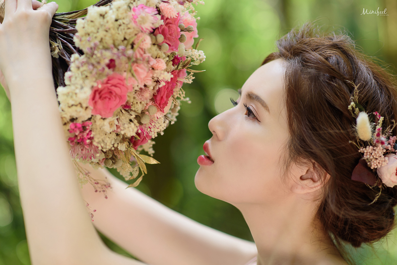 cheri婚紗包套,自助婚紗,乾燥捧花,繡球花婚紗,新祕BONA,高家繡球花,森林婚紗,MSC_0036