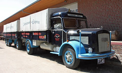Kaelble truck (Schwanzus_Longus) Tags: eystrup german germany old classic vintage truck lorry freight cargo transport trailer kaelble k 631 l